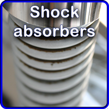 Shock absorbers, springs and struts.