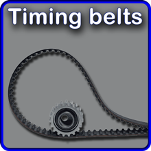 Timing belts and fan belts